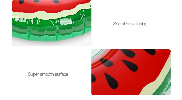 Watermelon Inflatable Swimming Ring Pool Float for Adult Children