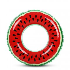 Watermelon Inflatable Swimming Ring Pool Float for RED DIAMETER  60CM