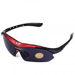 Robesbon 0089 - 1 Men Cycling Eyewear Outdoor Cycl RED