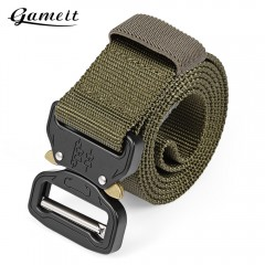 Gameit Tactical Belt Military Webbing Rigger Web S GREEN
