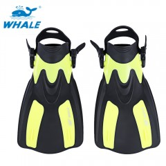 WHALE Oceanic Swimming Diving Snorkeling Adjustabl YELLOW M