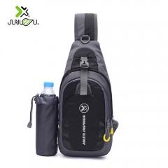 JUNLETU 1028 3L Outdoor Traveling Hiking Chest Bag BLACK