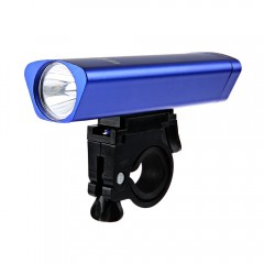 Outdoor Aluminum Alloy Bicycle LED Front Light wit BLUE