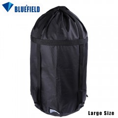 Bluefield Compression Bag Stuff Sack Travel Outdoo BLACK SIZE L