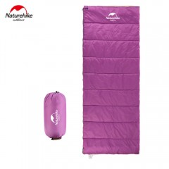 Outdoor Camping Ultralight Adult Sleeping Bag Enve PURPLE