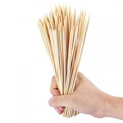 95pcs Disposable Bamboo Skewer for Barbecue Shish  LIGHT KHAKI