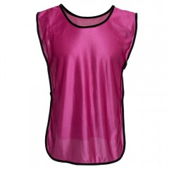 Breathable Solid Color Unisex Training Football Ve ROSE