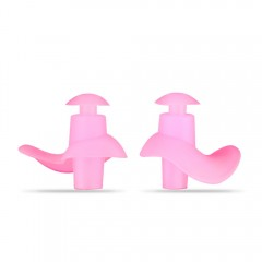 Professional Waterproof Soft Silicone Swimming Ear PINK