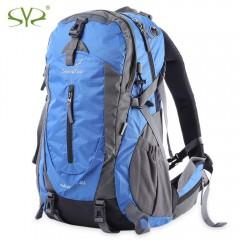 SHENGYUAN 35L Backpack Shoulder Bag with Rainproof BLUE