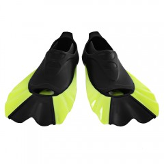 Paired Swimming Flippers Submersible Short Fins Sn YELLOW XS