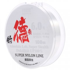 100M Clear Nylon Fishing Line Spool Beading String TRANSPARENT 6#