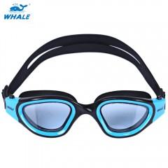 Whale Swimming Goggles Anti-fog UV Protection Swim BLUE