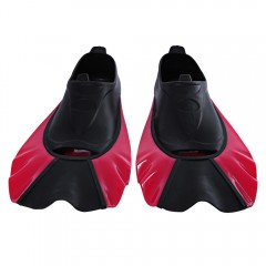 Paired Swimming Flippers Submersible Short Fins Sn ROSE XXS