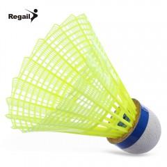 Regail 600 6pcs / Set Gym Exercise Training Nylon  YELLOW