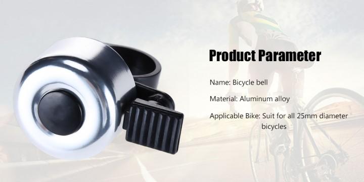 Colorful Mini Bicycle Bike Aluminum Alloy Handle Bell