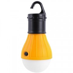 Outdoor Hanging LED Camping Lamp Tent Night Light  YOLK YELLOW