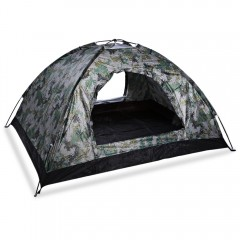 Camouflage Tabernacle Outdoor Camping Tent for Hik CAMOUFLAGE 1 OR 2 PEOPLE