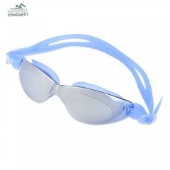 Conquest Swimming Goggles Anti-fog UV Protection S DEEP BLUE
