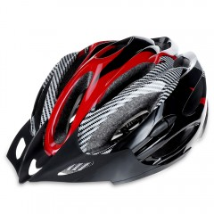 Integrally Molded Cycling Helmet Outdoor Sports Sa RED