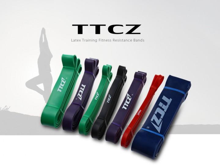 TTCZ Latex Training Fitness Yoga Resistance Bands