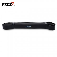 TTCZ Latex Training Fitness Yoga Resistance Bands BLACK 104.0 X 2.1 X 0.9CM