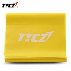 TTCZ Latex Training Fitness Elastic Resistance Ban YELLOW 150.0 X 15.0 X 0.03CM