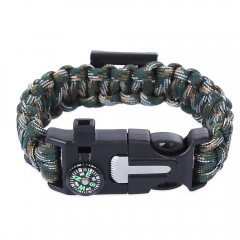 Multifunctional Knitted Emergency Survival Paracor GREEN