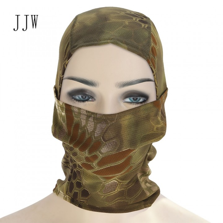 JJW Airsoft Hunting Breathable Balaclava Dust-proo JUNGLE CAMOUFLAGE