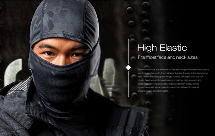 JJW Airsoft Hunting Breathable Balaclava Dust-proof Ski Cycling Wargame Mask