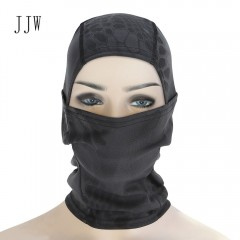JJW Airsoft Hunting Breathable Balaclava Dust-proo BLACK