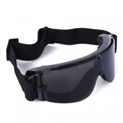 X800 Military Tactical Goggles Protective Glasses  BLACK