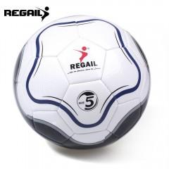 REGAIL Size 5 PU Flower Shape Training Soccer Ball COLORMIX