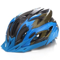 T-A016X Bicycle Helmet Bike Cycling Adult Adjustab BLUE AND BLACK
