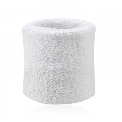 1PCS Basketball Wristbands Sports Gym Accessories WHITE