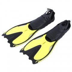 Paired Swimming Flippers Submersible Fins Snorkeli YELLOW L