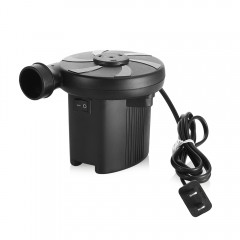 2 in 1 Quick-fill AC Electric Air Pump Inflation D BLACK