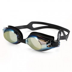 XinHang XH7610 Swimming Goggles with Anti Fog UV P BLACK