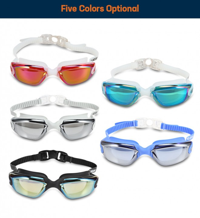 XinHang XH5710 Swimming Goggles with Anti Fog UV Protection