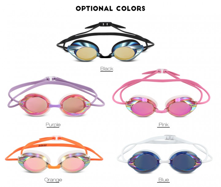 XinHang XH1702 Electroplating Swimming Goggles for Racing
