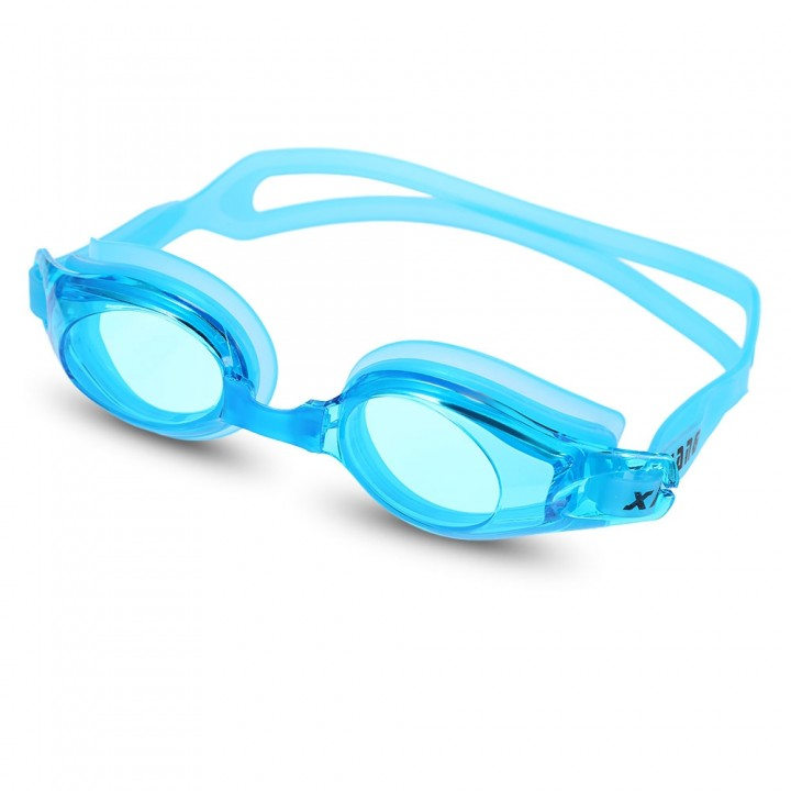 XinHang XH7600 Swimming Goggles with Anti Fog UV P BLUE