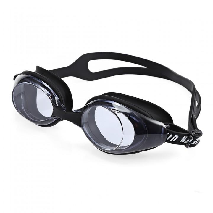 XinHang XH100 Swimming Goggles with Anti Fog UV Pr BLACK