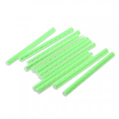 12pcs Bicycle Wheel Spoke Reflective Bar Bike Acce APPLE GREEN