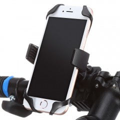 Universal Bike Bicycle Mobile Phone Holder Mount S BLACK