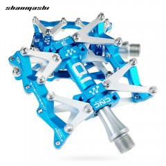 Shanmashi Q1 Mountain Bike Bearing Pedal Non-slip  BLUE