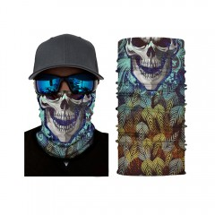 Multifunctional Skull Pattern Mask for Cycling Out BLACK LEO-002