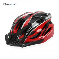 Deemount Cycling Helmet All-round Protection EPS B BLACK RED