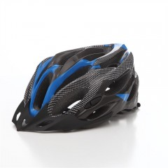 T - A021 Bicycle Helmet Bike Cycling Adult Adjusta BLUE AND BLACK