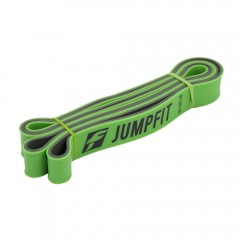 JUMPFIT Resistance Bands Two-tone Pull Up Fitness  GREEN 208 X 0.45 X 3.2CM