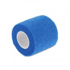 Self Adhesive Elastic Sports Elbow Bandage Nail Ta BLUE