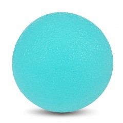 Transparent Silicone Ball Hands Finger Exercise Ma BLUE IVY